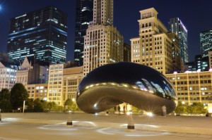 Chicago night bean