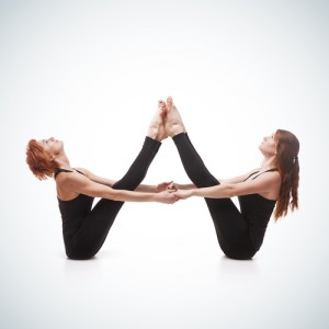 Couples yoga for women in Chicago